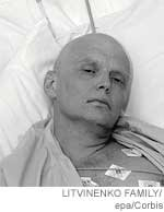 "Litvinenko: "" ... the radioactive element used to poison the former spy could not have come from Russia ... """