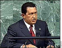 CIA NOTES: The Devil & Hugo Chavez, Luis Posada Carriles Must Be Tried as a Terrorist, Domestic Spying on the Rise