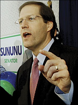 Karl Rove & New Hampshire Sen. John Sununu/Sununu and Big Oil