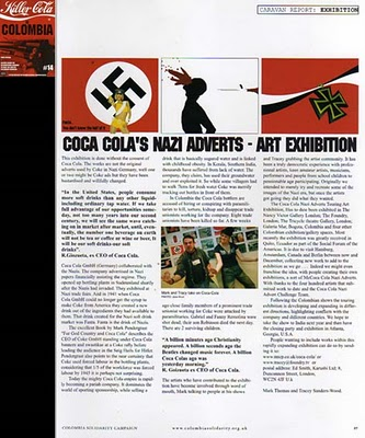 Coca-Cola & the Nazis/British Comedian Publicizes Coke's Nazi Past