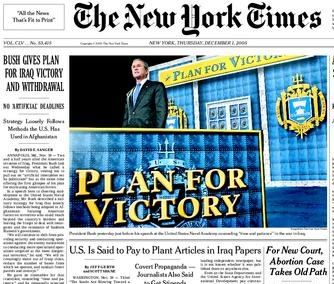 Lies of the Times: 'NYT' Public Editor Hits Paper's Surge in Blaming 'al-Qaeda' in Iraq/The Clark Hoyt NYT Editorial
