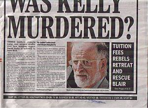 Did Hired Assassins Murder David Kelly?