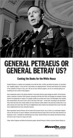 The Selling of General Petraeus