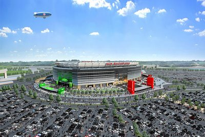 Op-Ed: New Meadowlands Stadium to Be Named for Company With Nazi Connections?