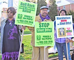 Baltimore: Left-Wing Protest at the Mayo Shattuck Estate