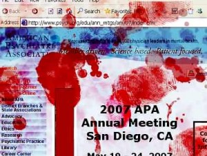 American Psychological Assn Crap on Torture
