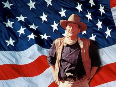 American History According to Bircher John Wayne