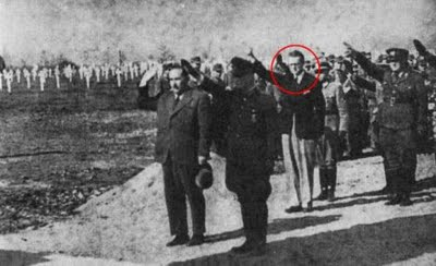UK: Nazi Collaborator a Reminder that Not All Fascists are BNP or Skinhead Loons