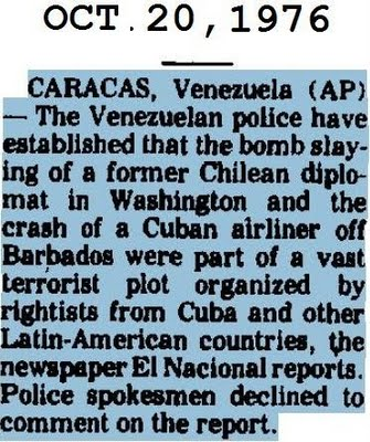 CIA Records on Luis Posada Carriles: Cuban Exile Informed on Colleagues