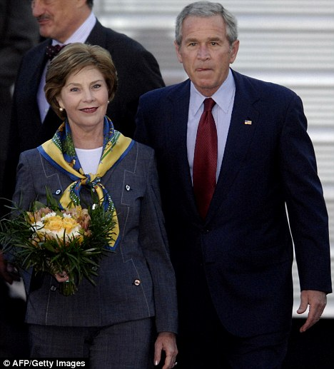 Laura Bush Slept through Funeral of Boy She Killed in Car Crash