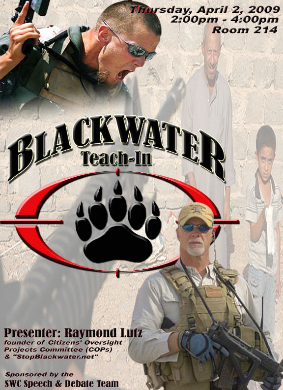 cia gives blackwater new 100 million contract the constantine report