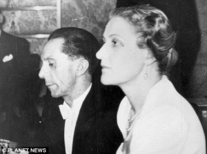 Goebbels, the Nazi Lothario: Hitler's Club-Footed Propaganda Chief had Scores of Affairs, Reveals Historian