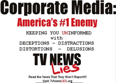 corporate control over media Corporate media is simply private mass media that is controlled by a corporation as  another company, clear channel owned over 1000 radio stations private.