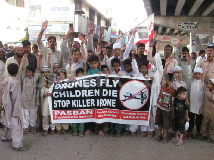 British Intelligence Officers Accused of Murder over Drone Attacks in Pakistan