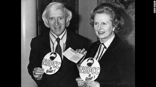 Revealed: Pedophile Jimmy Savile's Close Friendship with Margaret Thatcher