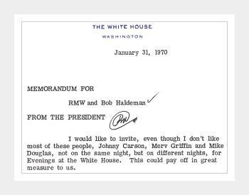 Nixon Library Opens Restricted Files