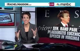 Maddow: Rand Paul Needs to Explain Wikipedia Plagiarism