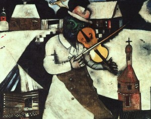 'Monuments Men': Rescuing Chagall's Paintings, Abandoning Chagall (INTERVIEW)