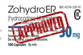"America's Deadliest Drug, Zohydro ER (""Heroin in a Capsule""), Coming Soon to Your Local Pharmacy"
