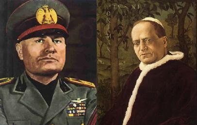 Book Reveals Close Ties Between Pope Pius and Mussolini