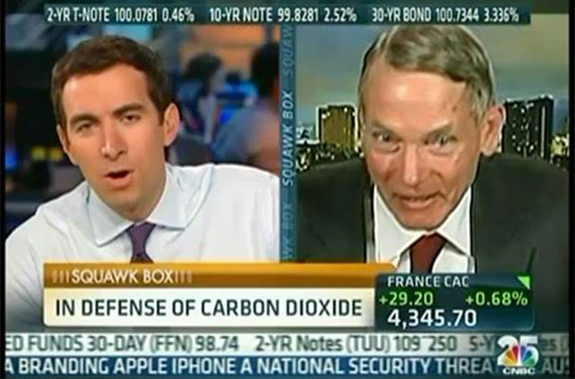 "Exxon-Funded Climate ""Expert"": ""Demonization Of Carbon Dioxide Is Just Like"" Demonization Of ""Jews Under Hitler"""
