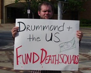 Death Squad Victims Cannot Sue Drummond