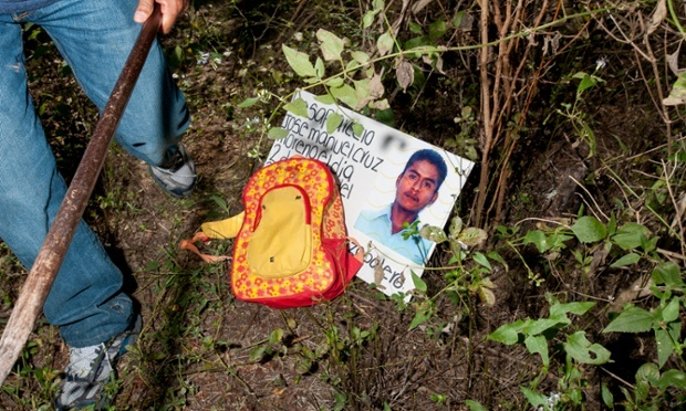 Bringing up the Bodies: Mexico's Missing Students Draw Attention to 20,000 'Vanished' Others