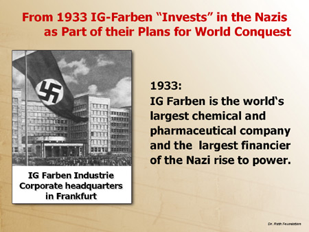IG Farben and Hitler: A Fateful Chemistry (Bloomberg Businessweek, August 13, 2008)
