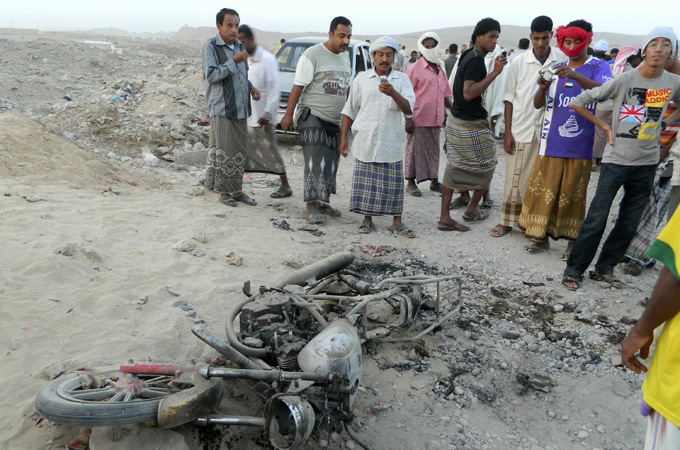 Civilians in Yemen Killed by CIA Drone Strikes & Covert Ops Far Outnumber Victims of Paris Terror Attack