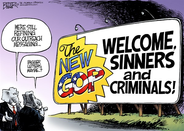 The Devil & the GOP: Six Thoroughly Disgraced Republican Officials On the Way Out