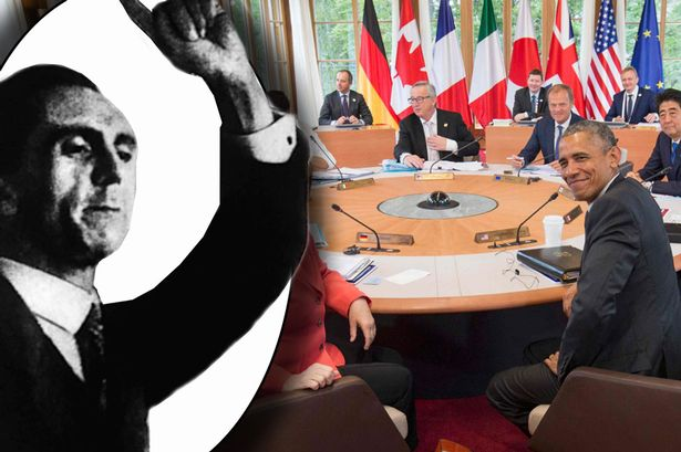 German Cops who Broadcast Goebbels' Nazi Speech while Guarding G7 Summit Face Prosecution