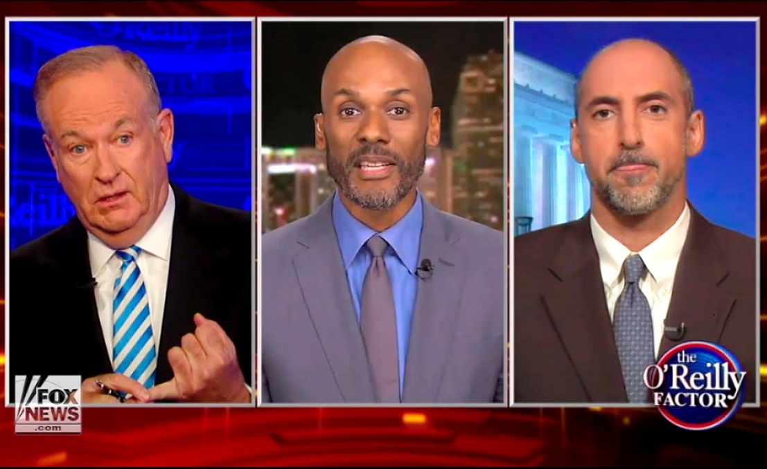 Fox Guest Calls Out Bill O'Reilly For Equating Black Lives Matter Supporters with Nazis
