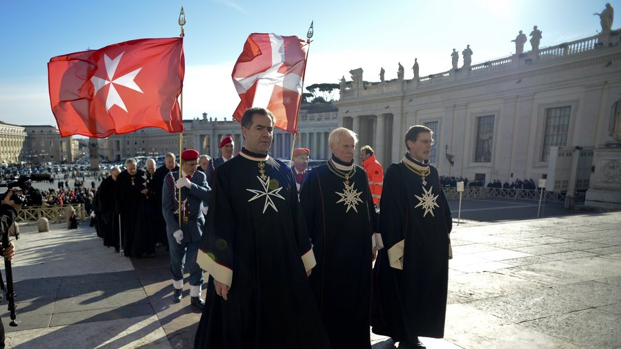 Knights of Malta Conspire to Kill Condom Scandal