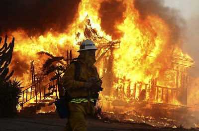 DOCUMENTED: SIEGE OF ARSON FIRES IN CALIFORNIA