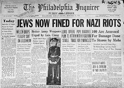 KristallnachtNewspaper