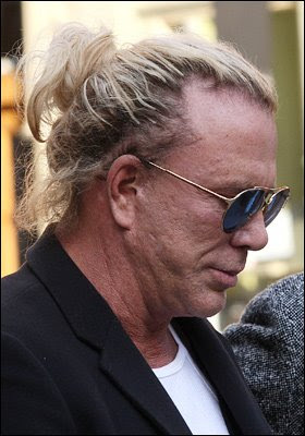 Profiles of America's Beloved TV Celebrities (30) -  Mickey Rourke, Hollywood's Goofiest Fascist
