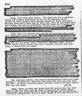 MLK: Sex, Lies & (FBI) Idiot Types